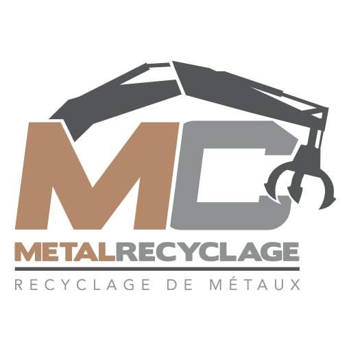 logo mc metal ferrailleur 95 rachat de ferrail 95 achat de métaux