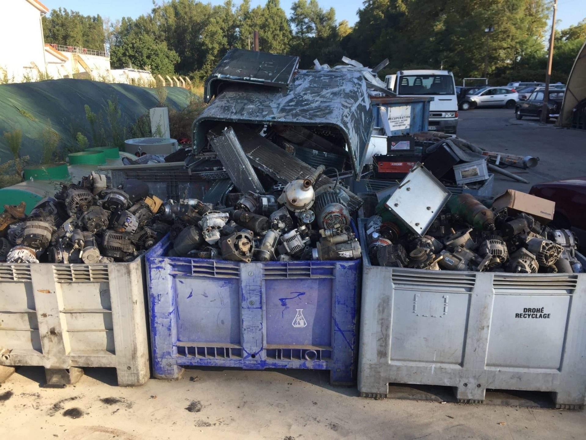 Recyclage de moteurs électriques MC Métal dans le Val d'Oise