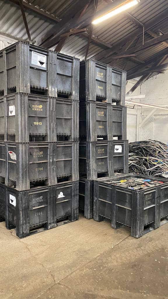Bac De Recuperation Mc Metal Batteries
